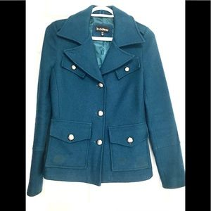 🎃Le Chateau XS Blue military jacket coat